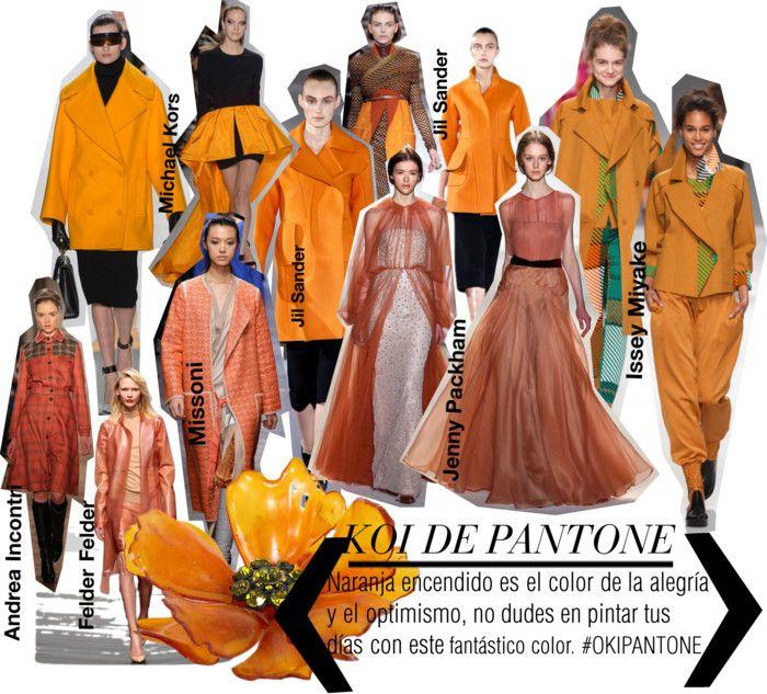 #Los5coloresTOPparaelotoño2013. El naranja brillante dará calor y energía vitamínica a tus días grises de otoño