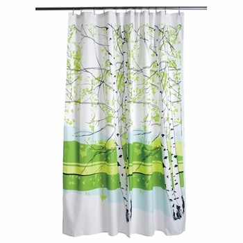 love this shower curtain--makes my morning every day