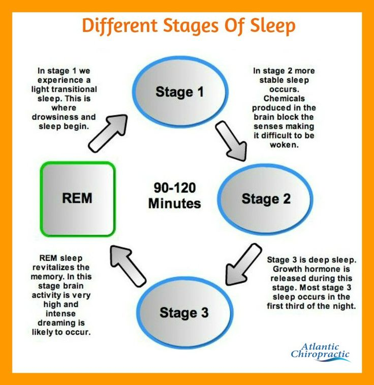 an examination of the four stages of sleep Did you know that health and sleep are related and that there are five stages of sleep a lot of things happen in your brain while you sleep the functions of sleep.