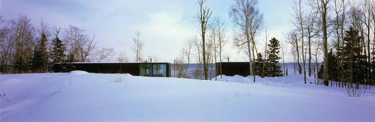 Weekend House: North Shore, Lake Superior.  Julie Snow Architects.