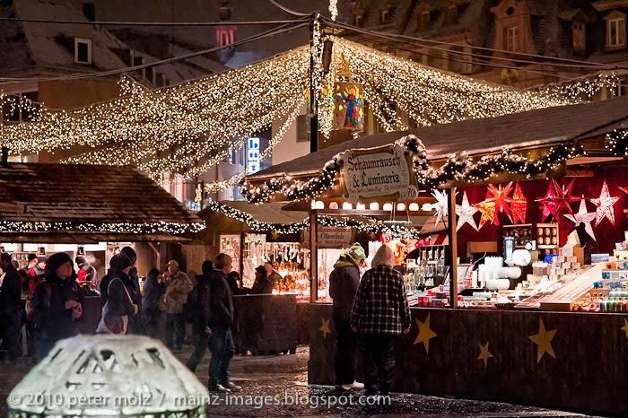 Christmas Market.  Mainz, Germany