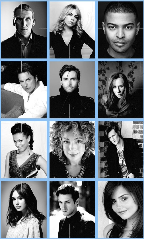Doctor Who Cast 2005-2012