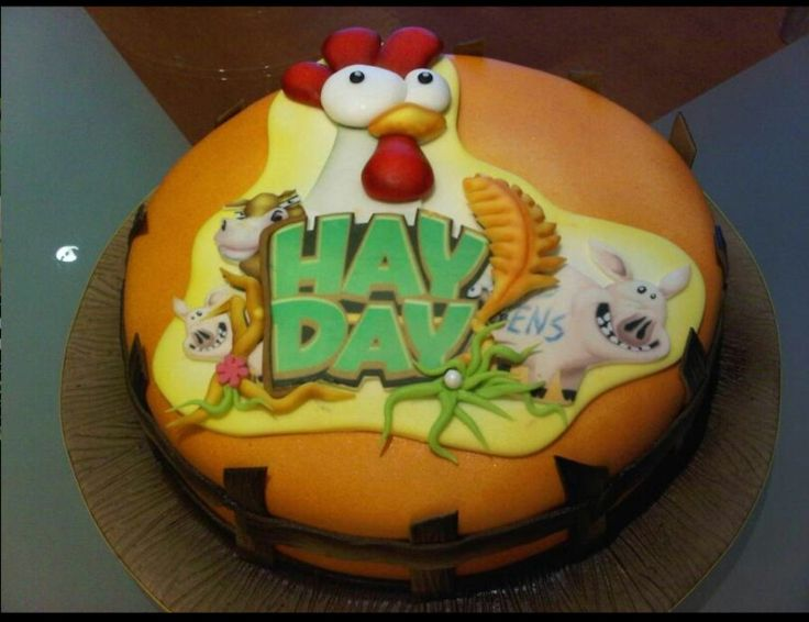 Hay Day cake