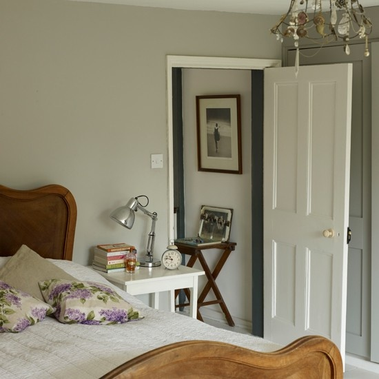 Farrow and Ball Hardwick white - north bedroom