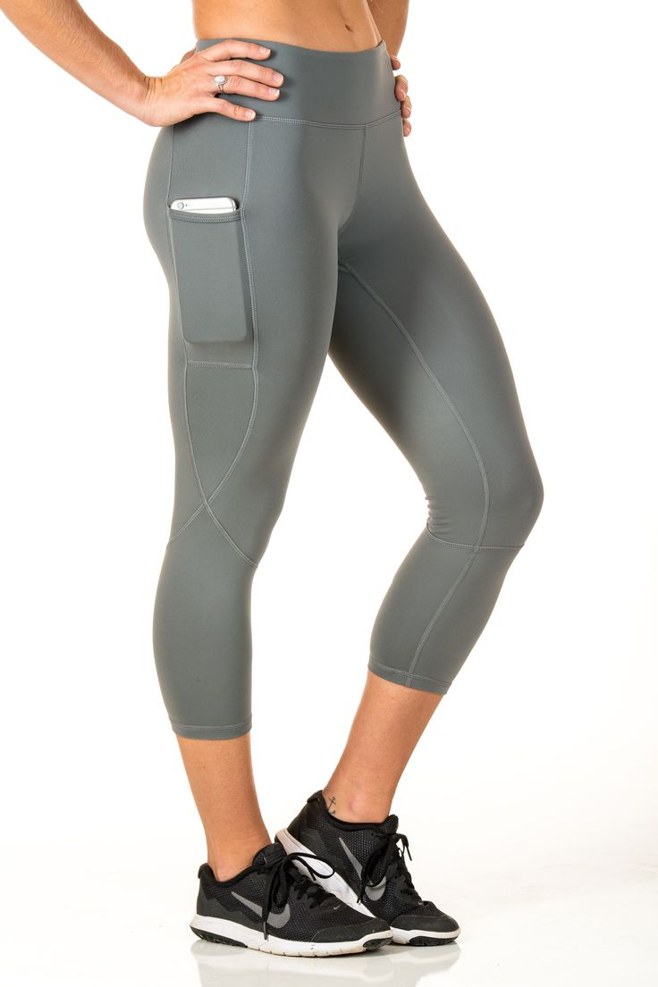 Platinum Carla - Having a cell phone pocket on your leggings will change your life!
