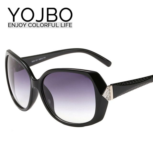 YOJBO Классический Круглые Солнцезащитные Очки 2016 UV400 Óculos Gafas De Sol Солнцезащитные Очки Моды Дизайнер Дамы Женщины Очки Аксессуары