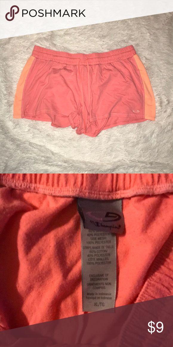 Champion XL Peach Shorts! Champion XL Peach Shorts! Gently worn. Champion Shorts