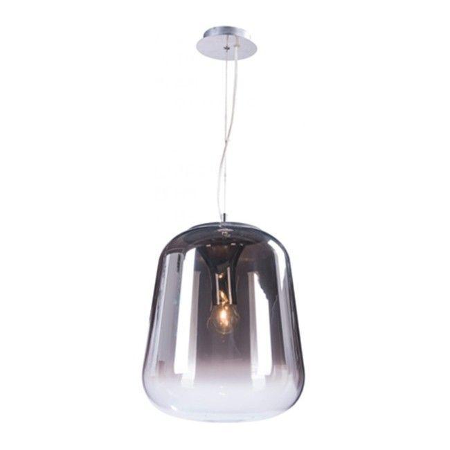 Lampa Wiszaca Lanila 1 X 60 W E27 Smoke Pendant Lamp Lamp Swag Light