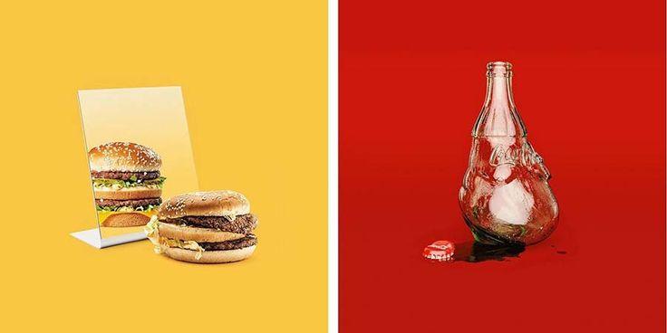 Цифровой художник из Берлина (Германия) Тони Футура (Tony Futura) создает сюрреалистические картины, которые издевательски высмеивают популярную культуру, современное общество и его тягу ко всему м…