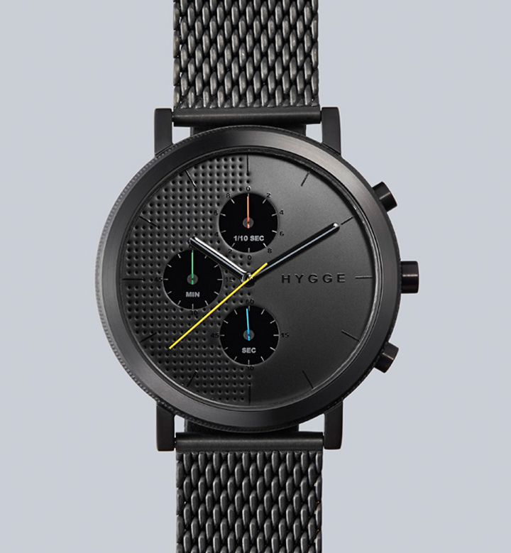 HYGGE watches design by Major W.M. Tse