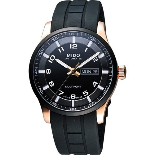 Mido M005.430.37.057.09 Gents Watch Multifort analog automatic rubber M0054303705709 ** To view further for this item, visit the image link. (This is an Amazon Affiliate link and I receive a commission for the sales)