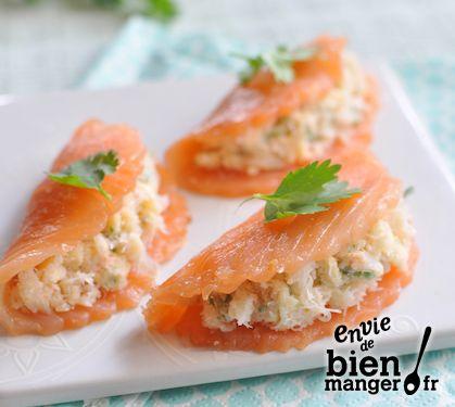 Ravioles de saumon | Recette Ravioles de saumon - Envie de bien manger