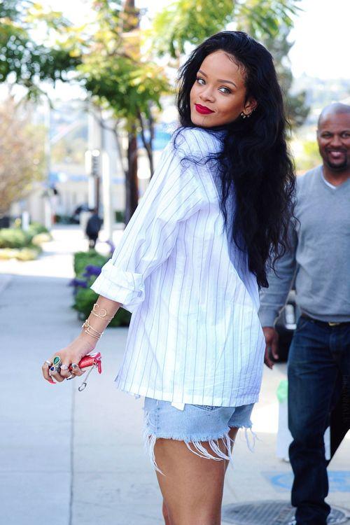 Rihanna shopping in Los Angeles.