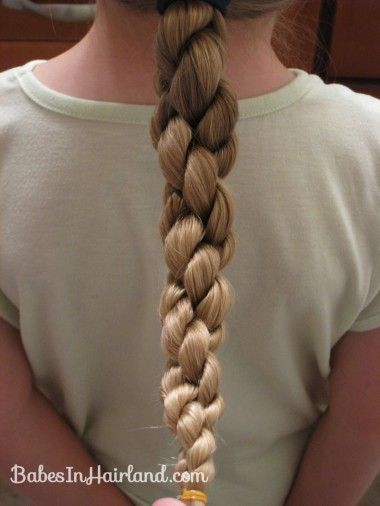 How to do a Hawser Braid (double rope twist)