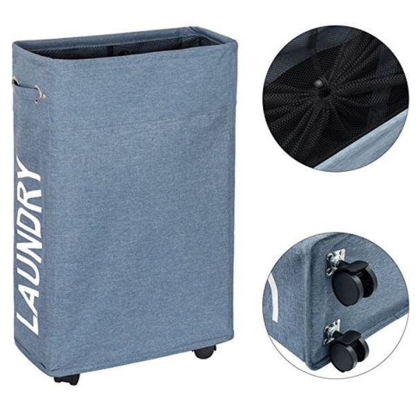 20 Insanely Clever Amazon Products For Your Dorm Society19 Laundry Hamper Laundry Hamper With Wheels Dorm