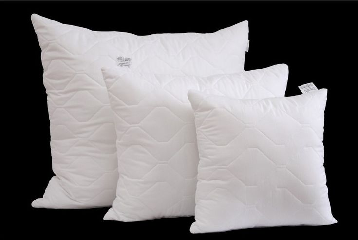 Hipoalergiczne poduszki pikowane białe 70 x 80 cm