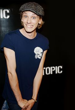 jamie campbell bower. i don't know why so don't ask. i've been told i have unpredictable taste.