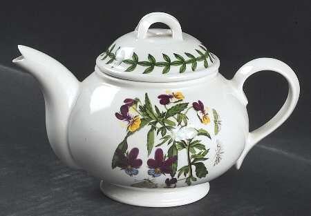 Portmeirion Botanic Garden Individual Teapot & Lid