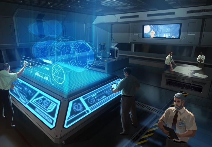 Sci Fi Computer Room Google Search Industrial
