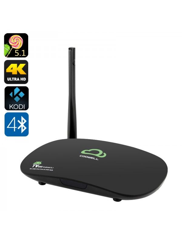 4K Android 5.1 TV Box