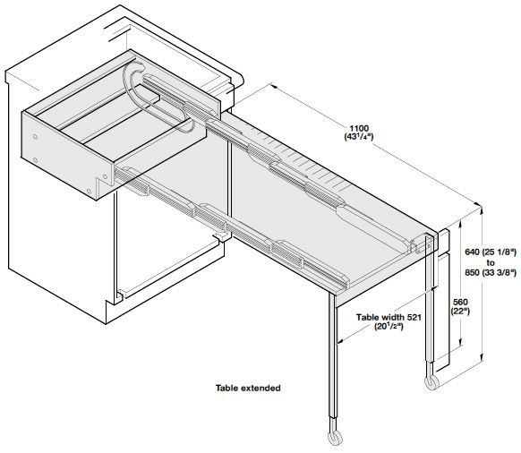 1000 Images About Pull Out Kitchen Tables On Pinterest