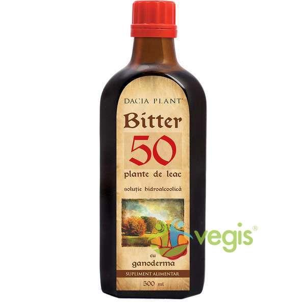 Bitter din 50 de plante cu Ganoderma, ml, Dacia Plant : Farmacia Tei online