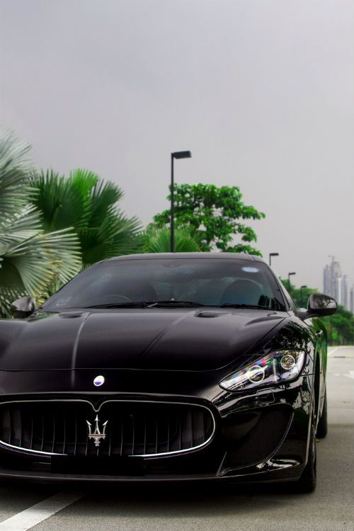 Maserati is an Italian luxurious car . My future car...hopefully.