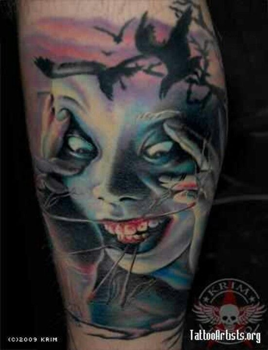 69 best images about tattoos horror tattoos on pinterest realism tattoo clown tattoo and. Black Bedroom Furniture Sets. Home Design Ideas