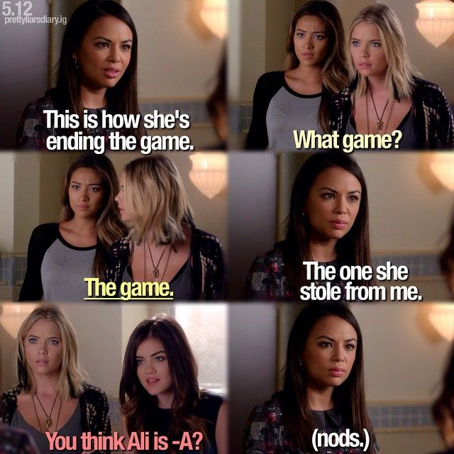 "S5 Ep12 ""Taking This One To the Grave"" - Mona, Hanna, Emily and Aria"