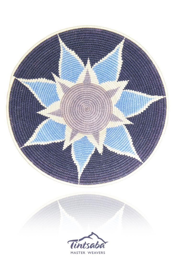Tintsaba - Handmade sisal basket from Swaziland, Africa. 31cm www.tintsaba.com