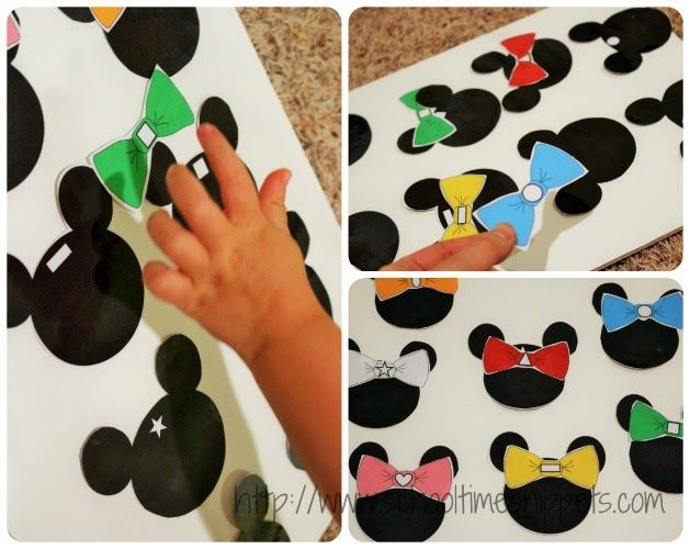Learn Shapes with Minnie Mouse