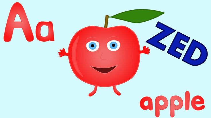 It's a phonics song with a picture for each letter. This version uses the name ZED for the letter Z. This is designed to help children learn the sounds of th...