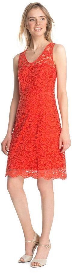 ESPRIT Edles Etui Kleid aus Spitze #edles #esprit #kleid #spitze