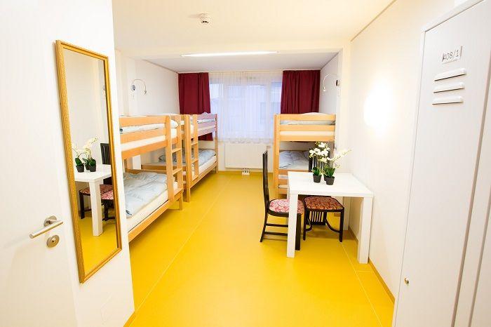 L'ostello A&T Holiday a Vienna dispone di un intero piano per sole ragazze e ha prezzi da 15€ a notte!