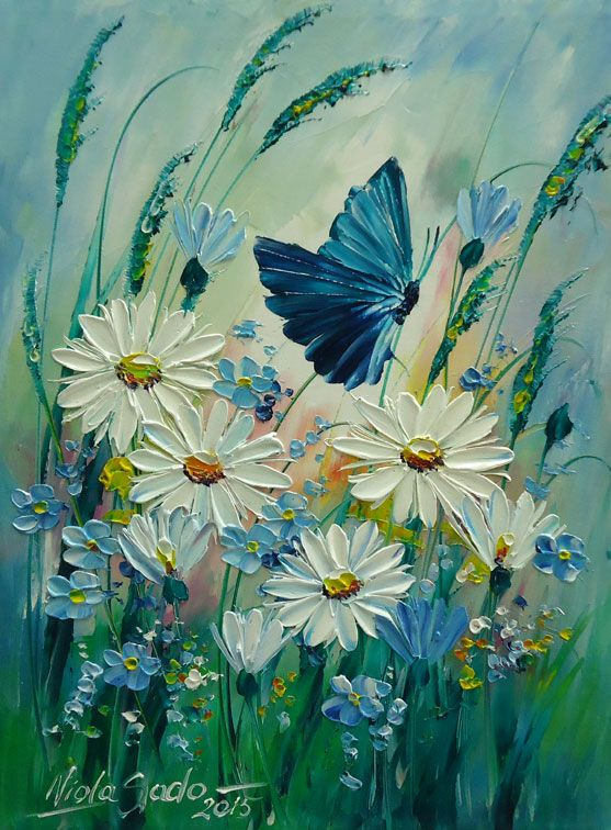MOTYL Viola Sado obraz olejny płótno 24 x 32 cm (5770357633) - Allegro.pl - Więcej niż aukcje.