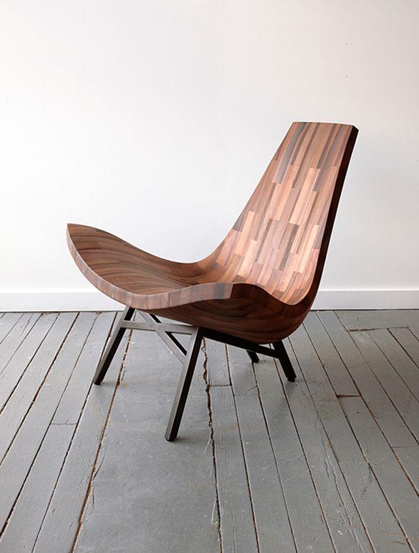 Chaises Sculpturales Modernes Uniquement Artistiques