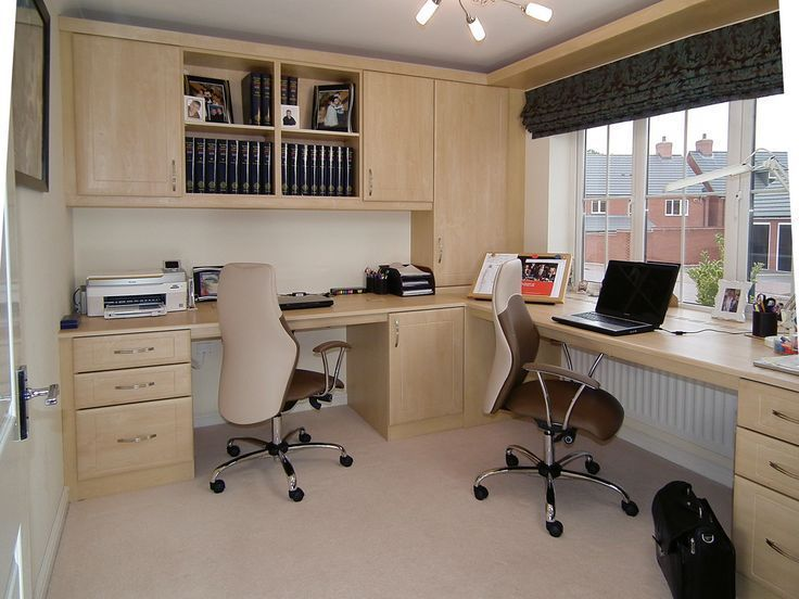 Image Result For How To Organize A Home Office For Two Computerdesk Of Contemporary Home Office Furniture Office Furniture Design Home Office Furniture Sets