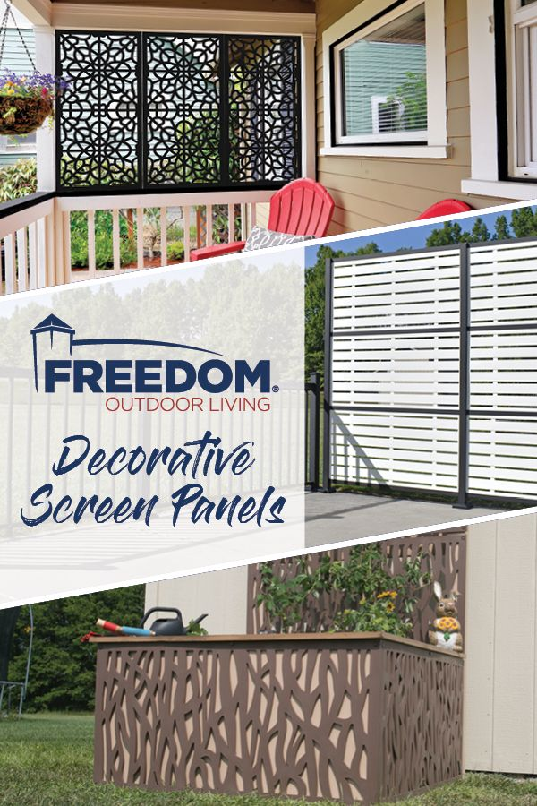 Allure Decorative Sheeting Deck Skirting Freedom Outdoor Living For Lowes Decorative Screen Panels Decorative Screens Outdoor Living