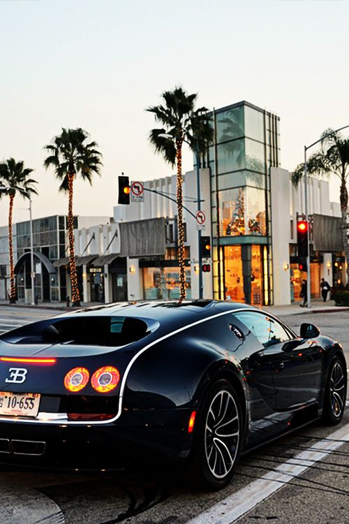 "fullthrottleauto: ""The 268 MPH Bugatti Veyron Super Sport Passing Through Beverly Hills (by SupercarFocus.com) (#FTA) """