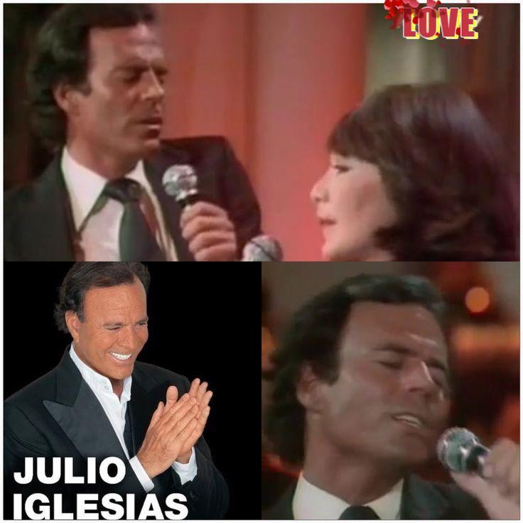 JULIO IGLESIAS with  Juliette Greco