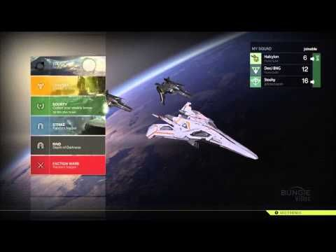 new destiny character selection and menu screen breakdown design menu design gameui designdesign ideasgame - Ui Design Ideas