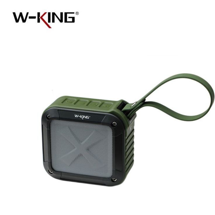 W-King Bluetooth Speaker Waterproof Wireless Portable Music Speaker Radio Box High Quality Anti-drop Outdoor M Loudspeakers