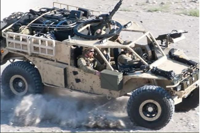 Storm Search and Rescue Tactical Vehicle (SRTV), developed in conjunction with Special Operations Forces