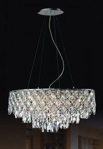 Kate lampa wisząca 12-punktowa MD112815-12B