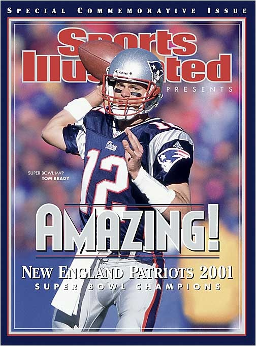 Tom Brady, Sports Illustrated New England Patriots 2002 SI Cover