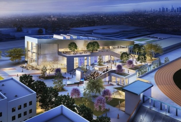 The new Student Union planned for Los Angeles City College.