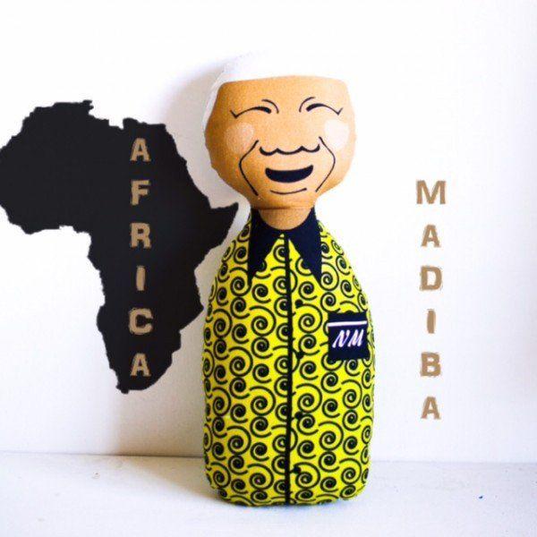 Nelson Mandela Doll