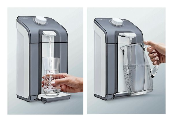 Water Purifiers for Latina by Peter von Zweigbergk, via Behance