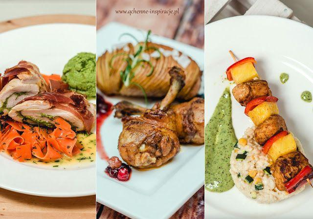 Qchenne-Inspiracje! Odchudzanie, dietoterapia, leczenie dietą: Trzy dania z kurczaka na wyjątkową kolację walenty...