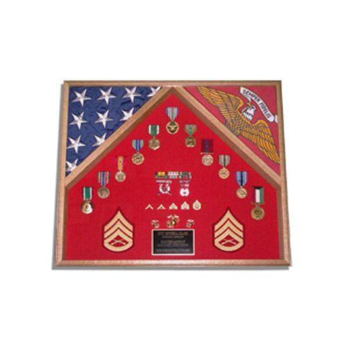 2-Flags-Military-Shadow-Box-Hand-Made-By-Veterans-2-flags-display-case